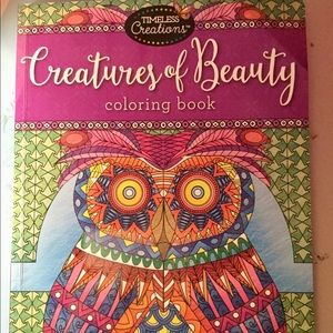 Creatures of Beauty therapeutic  coloring book